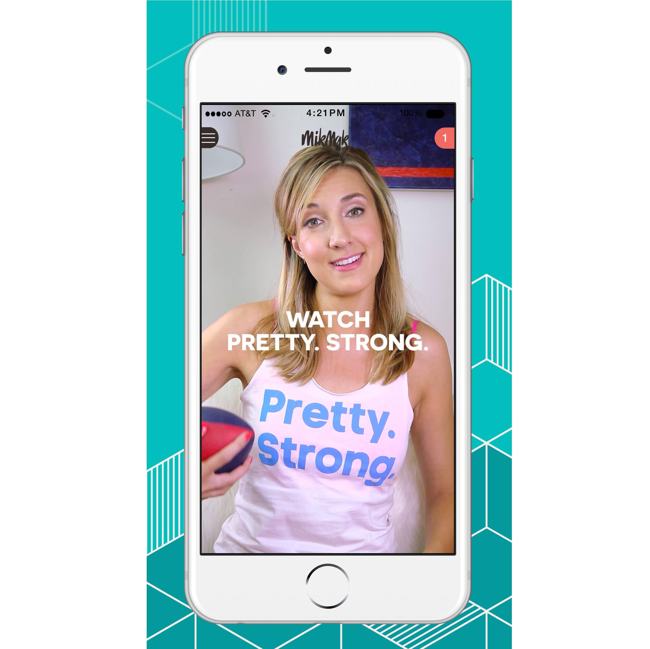 MikMak app screen