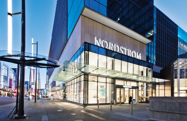 Nordstrom's store in Vancouver.