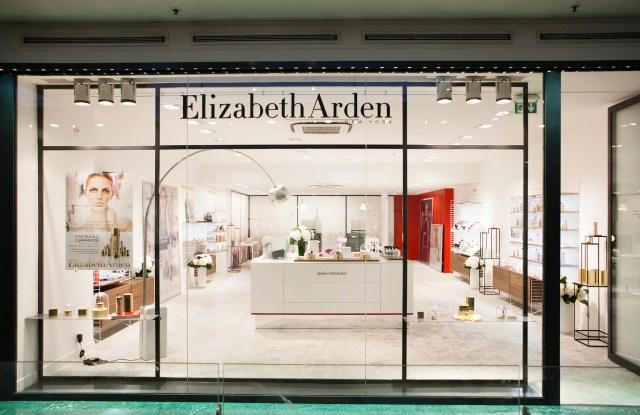 The Elizabeth Arden store.