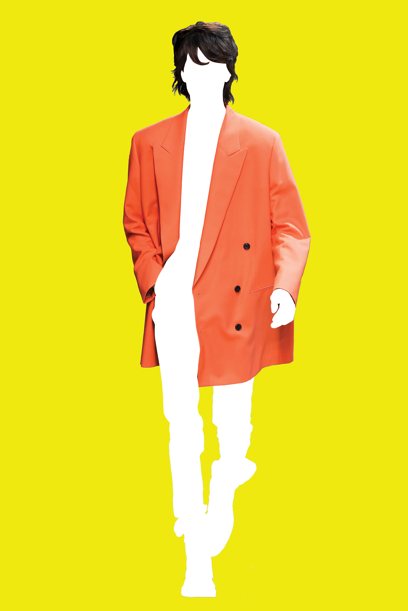 Illustration: Slouchy look from Paul Smith Spring 2016