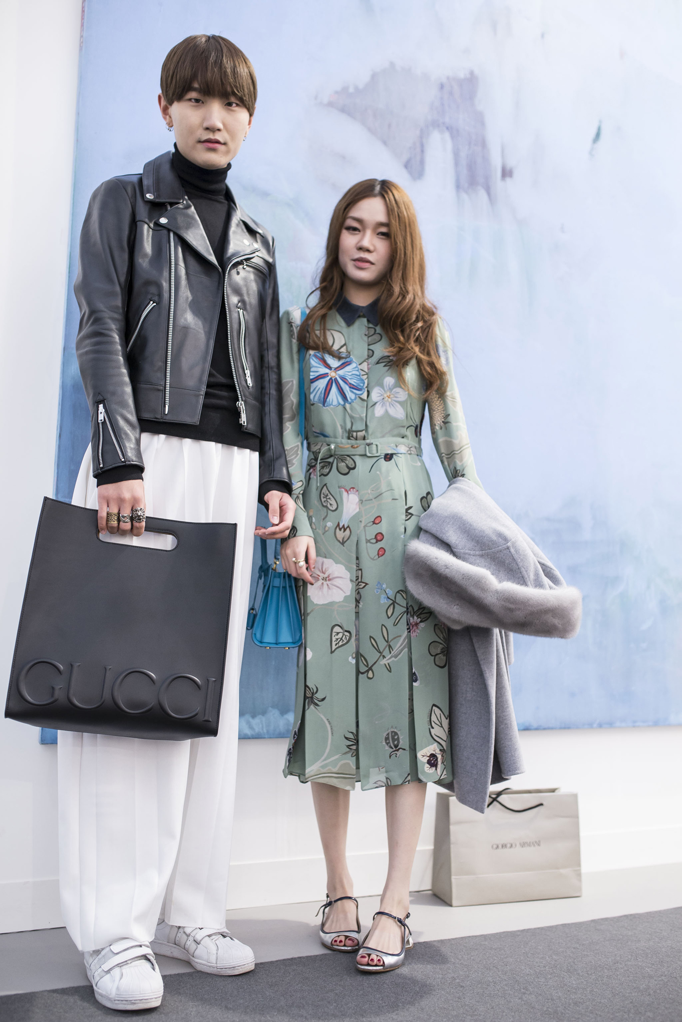 Street style On the grounds of Frieze London.