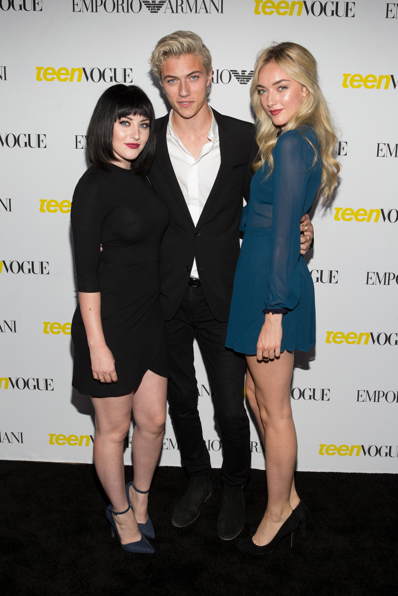 Queen Starlie Smith, Lucky Blue Smith and Daisy Clementine Smith.