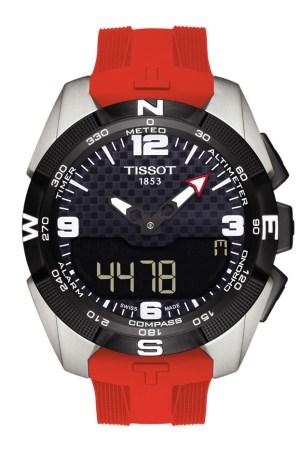 A Tissot watch.