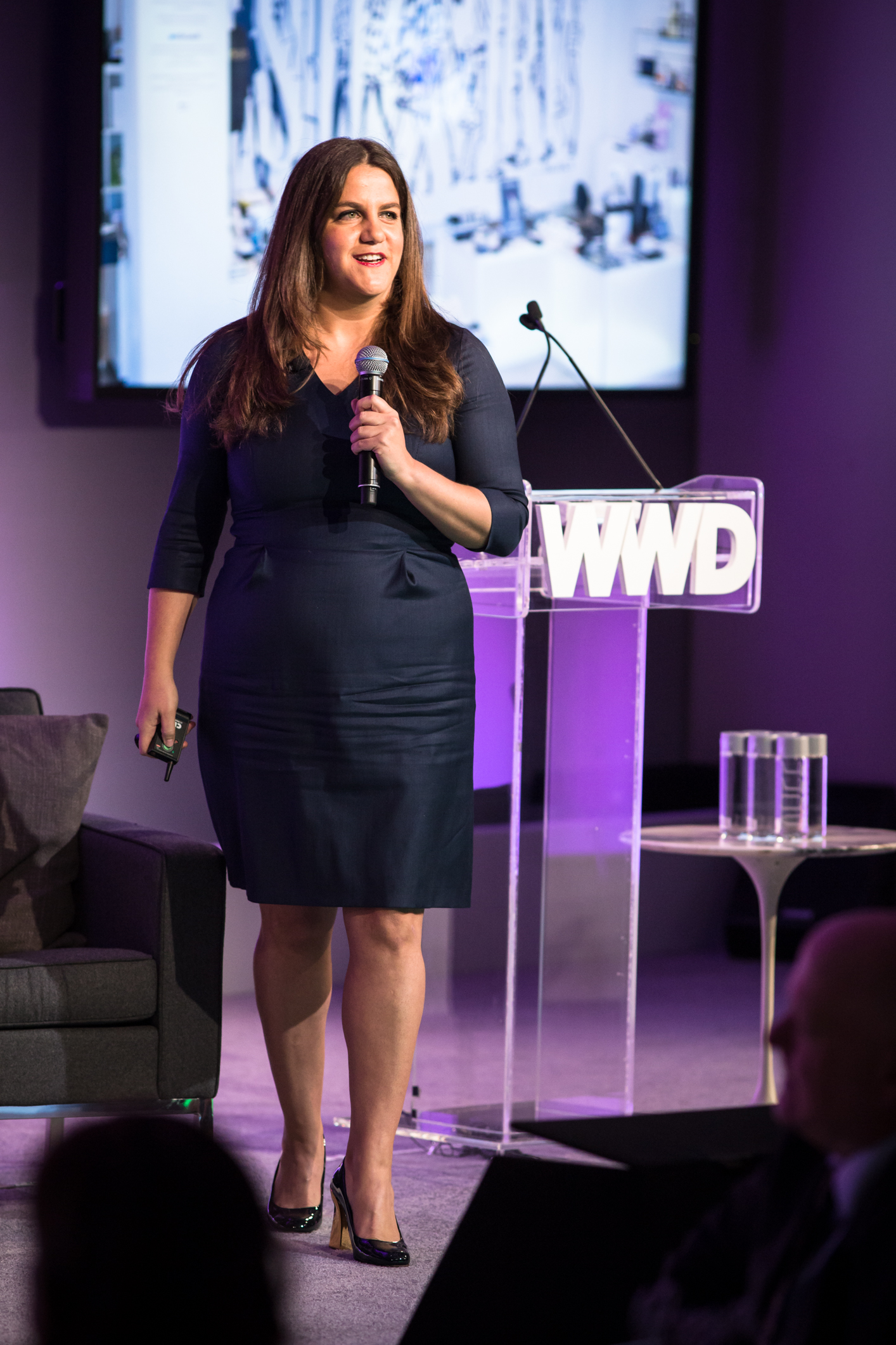 Rachel Shechtman at the 2015 wwd summit