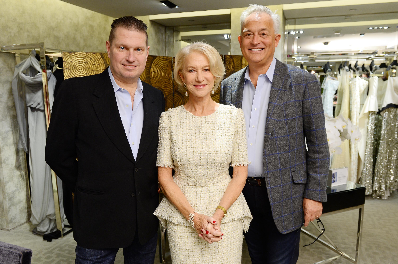 James Mischka, Helen Mirren, and Mark Badgley.