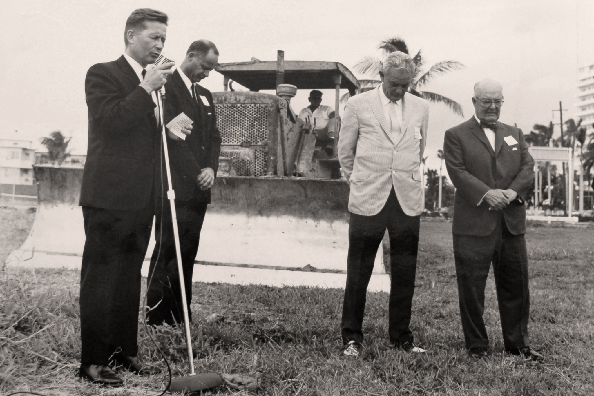 Breaking ground five decades ago.