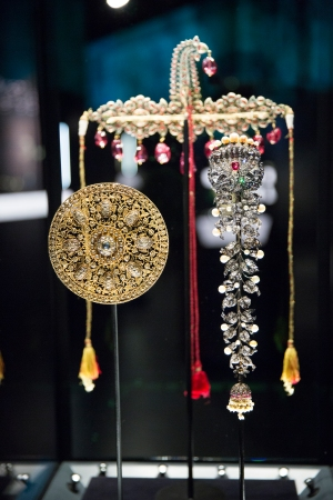 Bejewelled Treasures exhibit