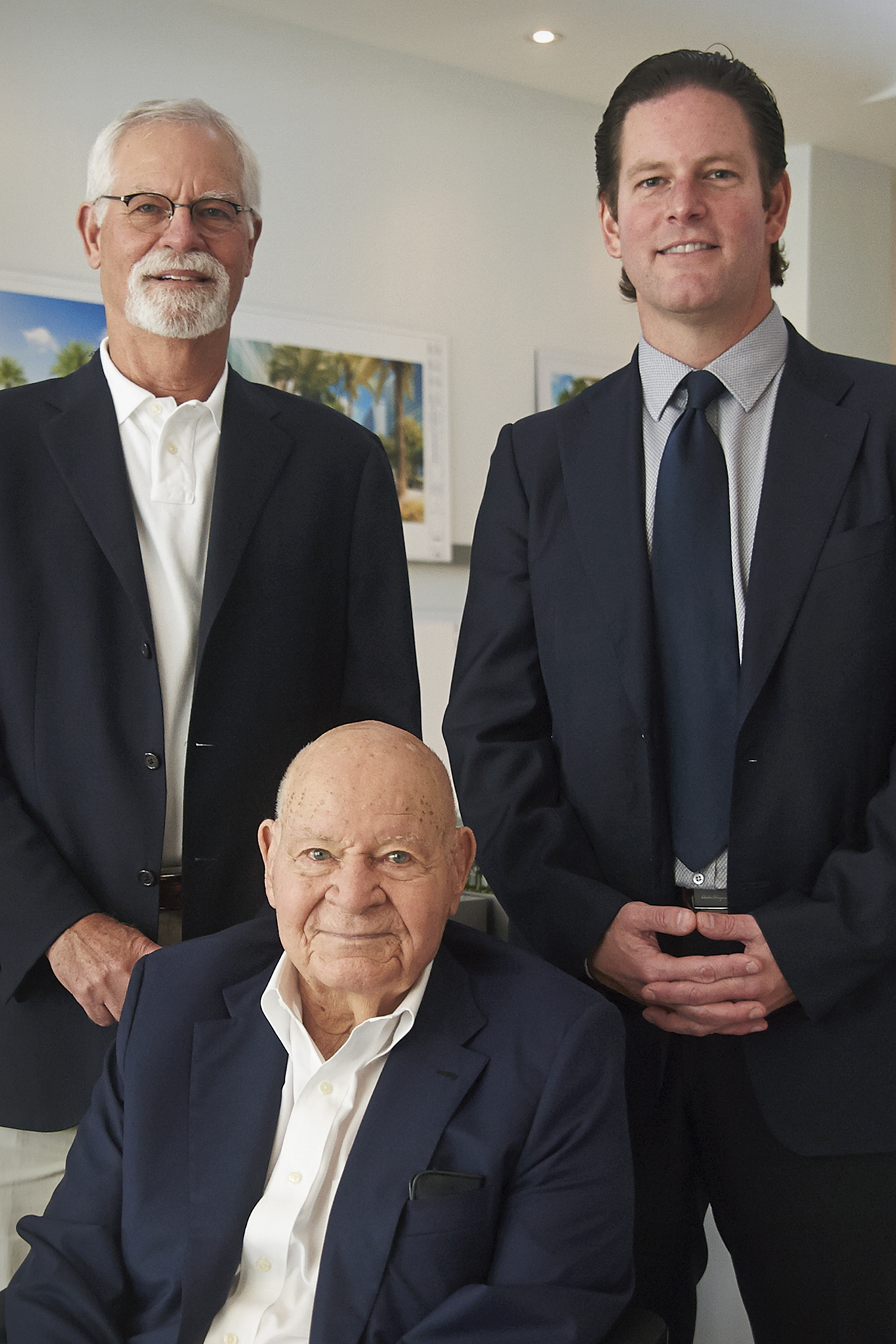 Randy Whitman, Matthew Whitman Lazenby and Stanley Whitman.
