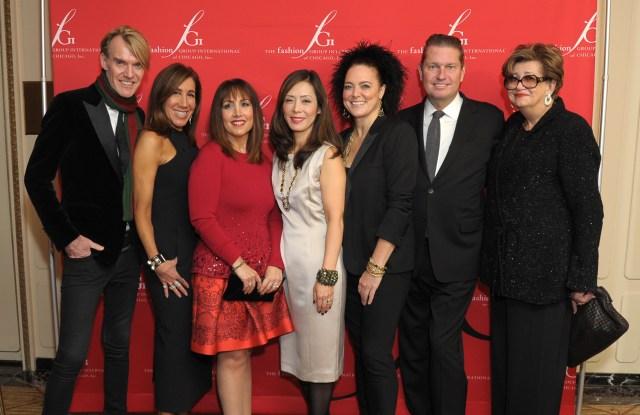 Ken Downing, Nina Mariano, Wendy Krimins, Tomoko Yamagishi-Dressler, Ippolita Rostagno, James Mischka, Margaret Hayes