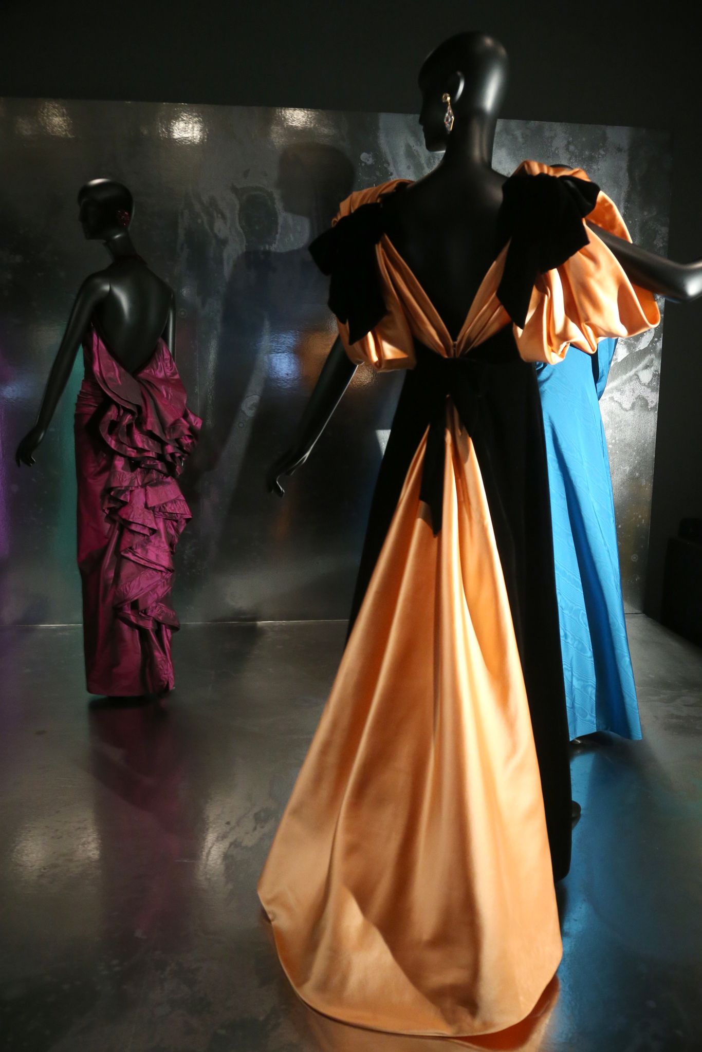 "A view of ""Jacqueline de Ribes: The Art of Style"" at The Met."