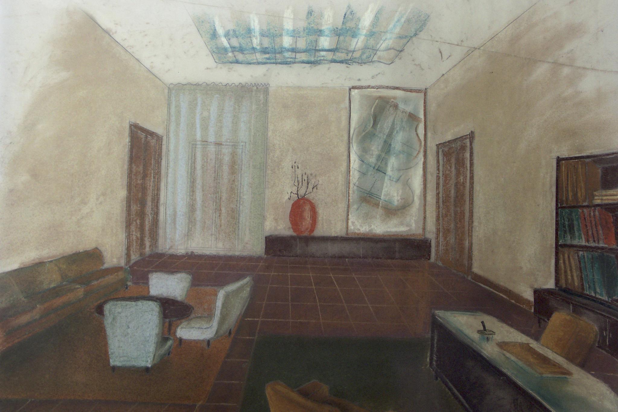 A sketch by Guglielmo Ulrich.