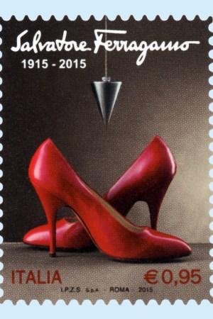 Salvatore Ferragamo stamp