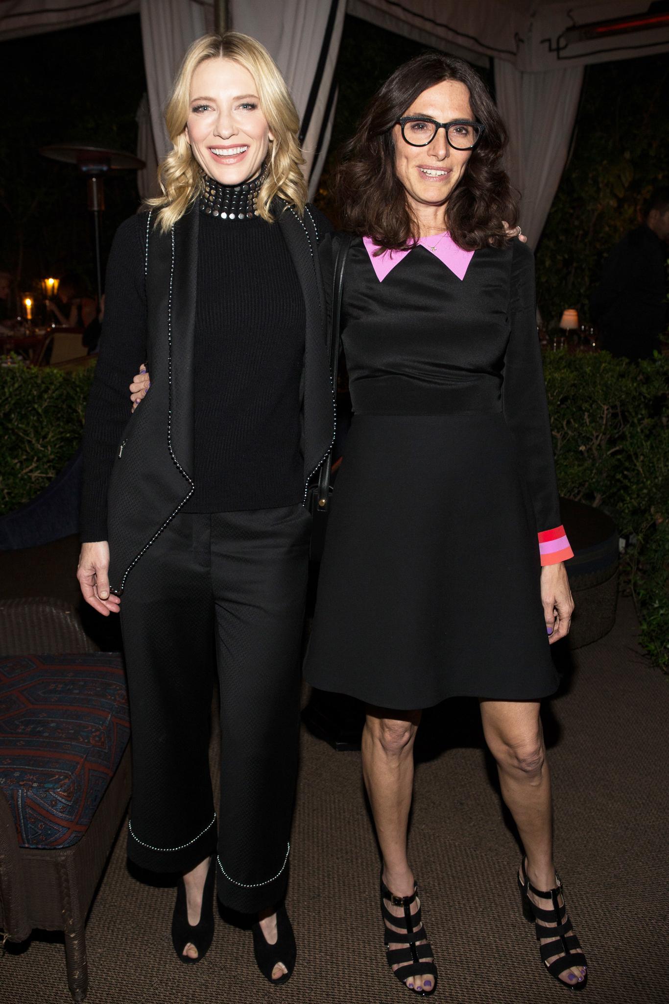 Cate Blanchett and Elizabeth Stewart