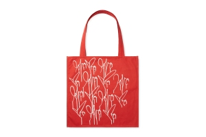 Curtis Kulig's RED tote for Gilt Groupe