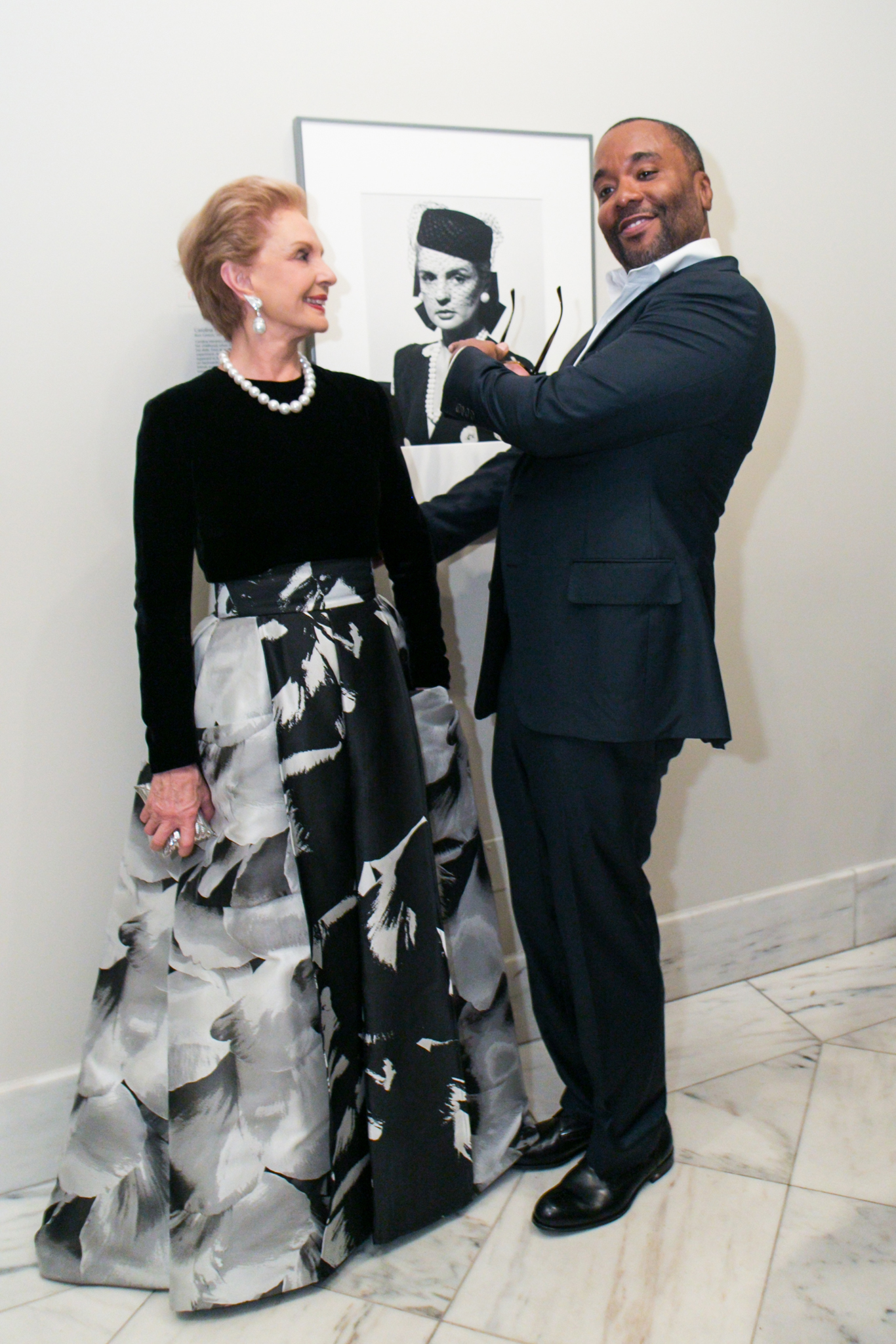 Carolina Herrera and Lee Daniels