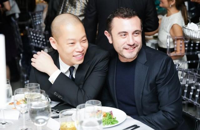 Jason Wu and Gustavo Rangel HIRSHHORN MUSEUM and Sculpture Garden 40th Anniversary Gala
