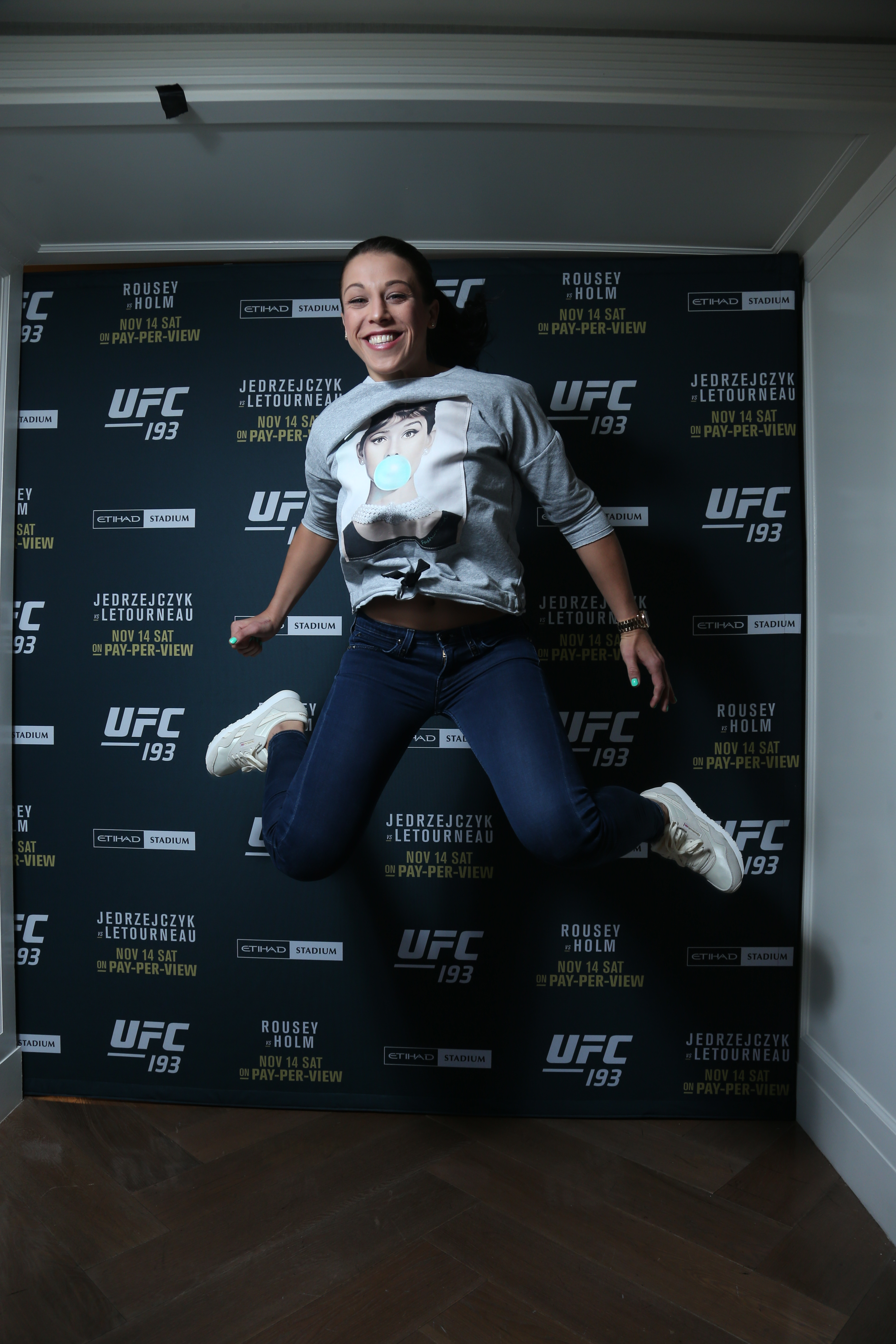 UFC Fighter Joanna Jedrzejcyk