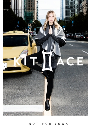Kit and Ace's new ad campaign.