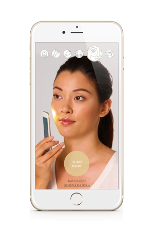 The MatchCo app helps find a person's perfect complexion