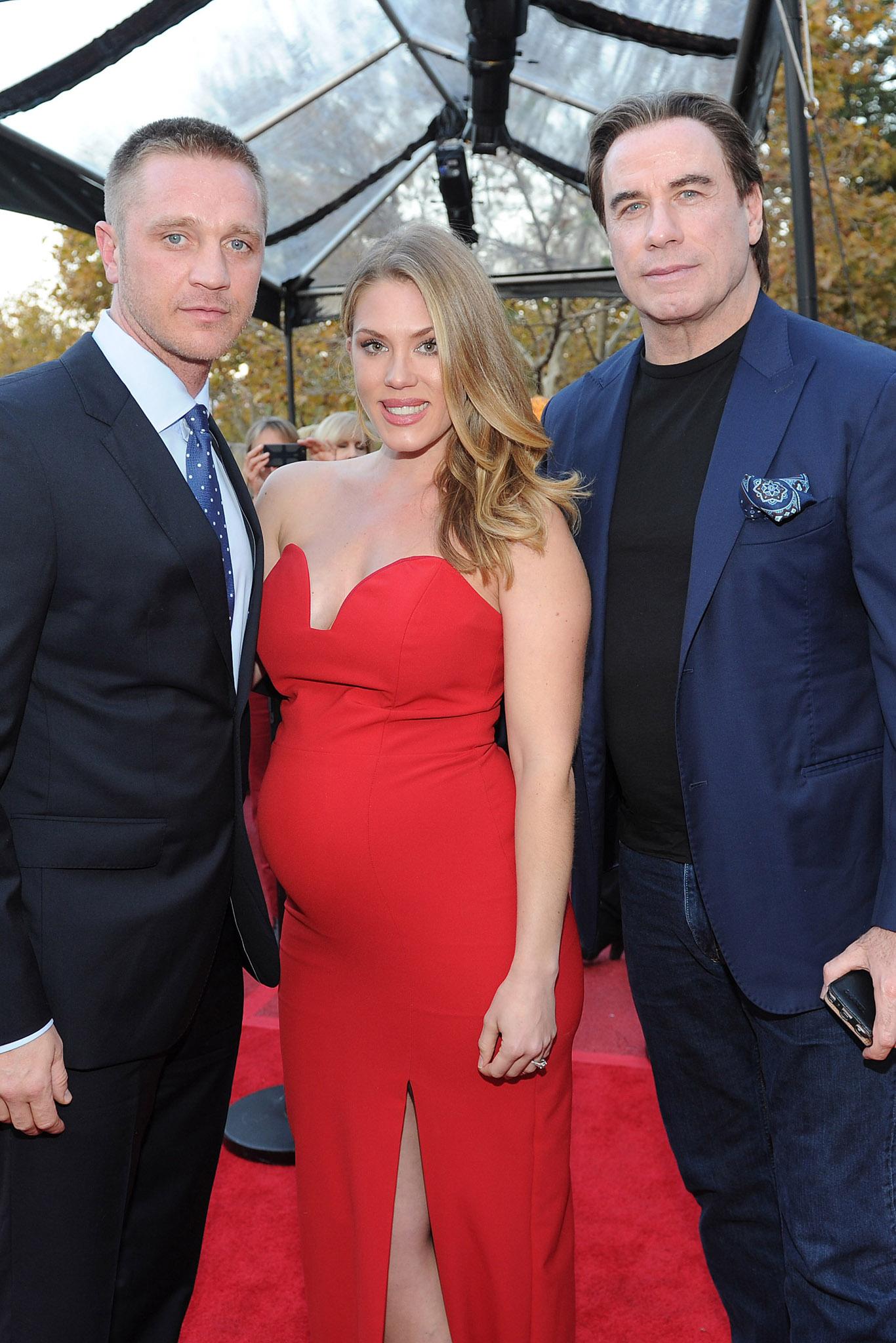 Devon Sawa, Dawni Sahanovitch and John Travolta.