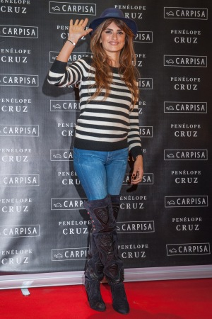 Penélope Cruz for Carpisa in Milan