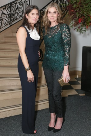 Pilar Guzman and Aerin Lauder