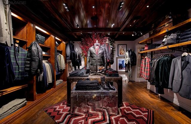 The Polo Ralph Lauren men's store in Rome.