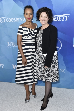 Kerry Washington and Lyn Paolo at stylemakers