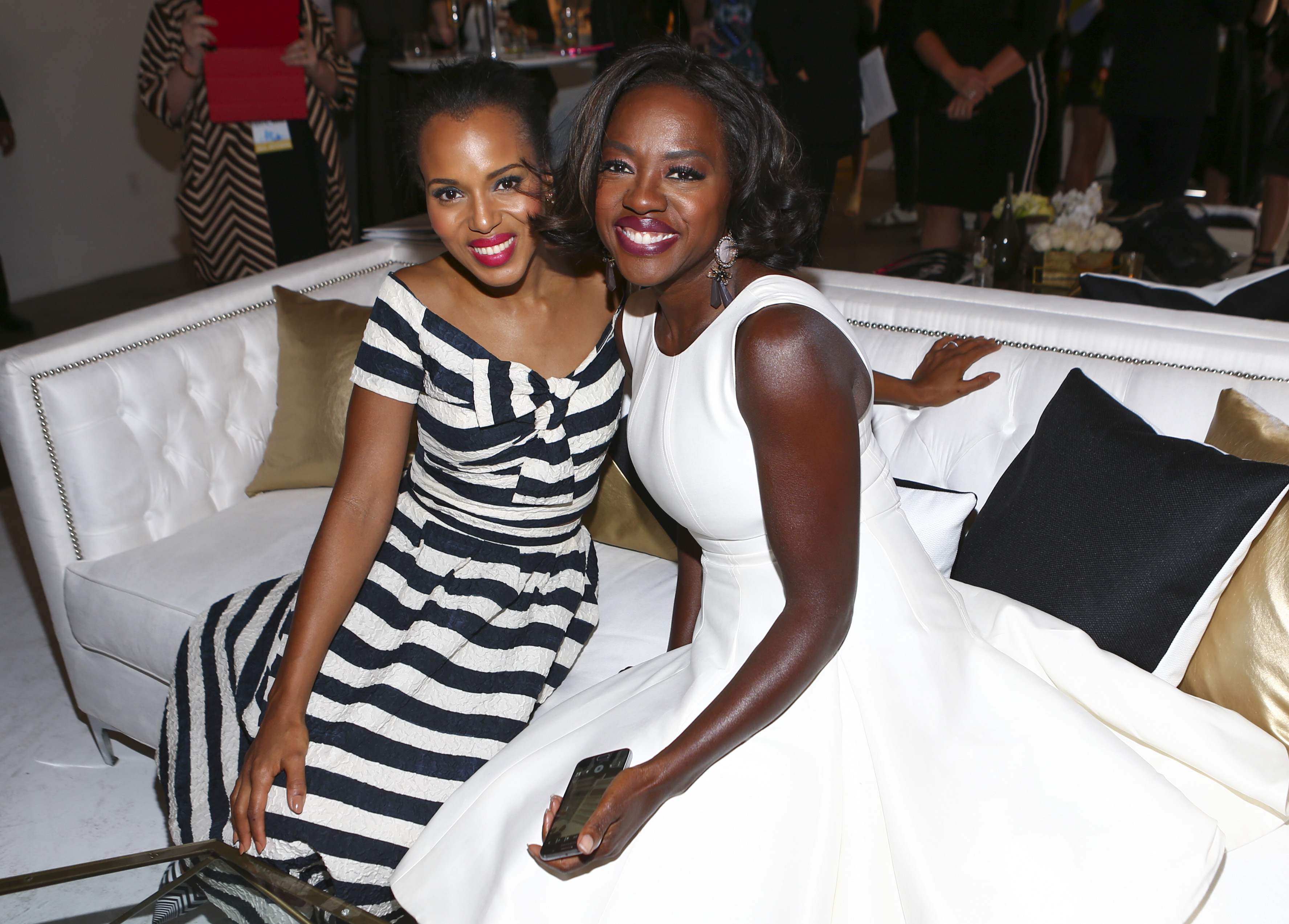 Kerry Washington and Viola Davis