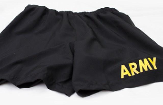 Burlington Industries will supply fabric for U.S. Army physical training garments.