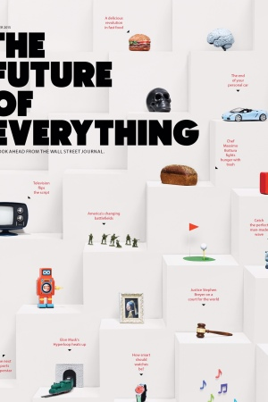 "The cover of ""The Future of Everything."""