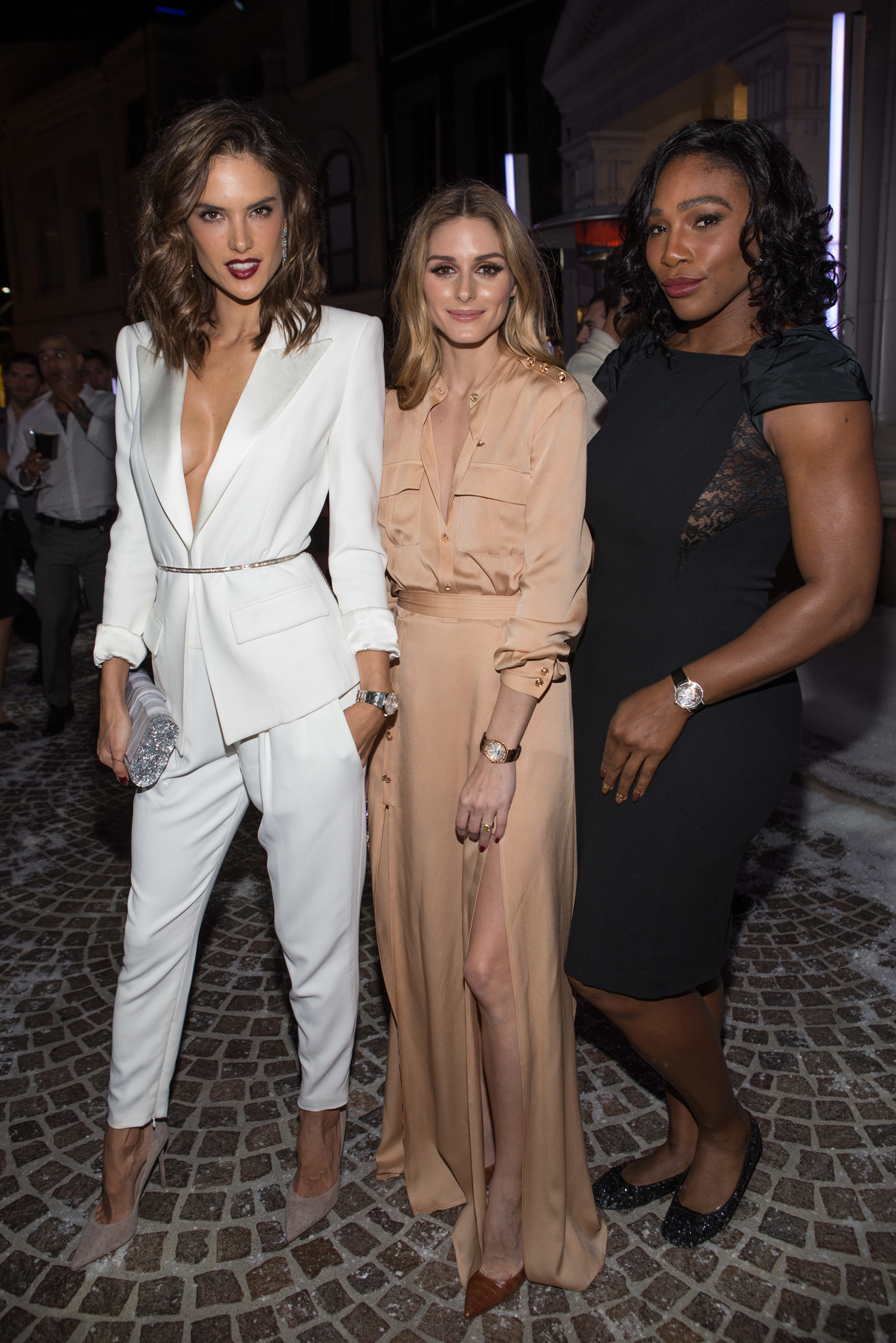 Alessandra Ambrosio, Olivia Palermo and Serena Williams AUDEMARS PIGUET CELEBRATES GRAND OPENING OF RODEO DRIVE BOUTIQUE - Beverly Hills, Ca