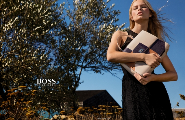 A visual from the Boss spring '16 ad.