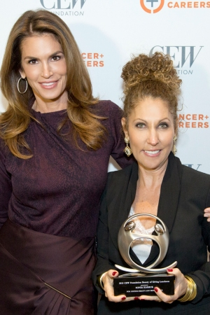 Cindy Crawford and Sonia Kashuk