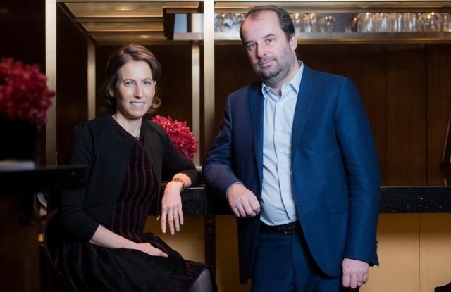 Sophie de Rougemont and Loïc Bocher