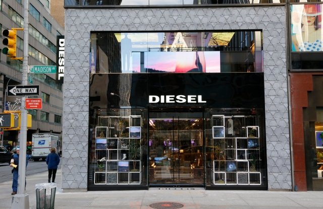 Exterior of Diesel's Madison Avenue location