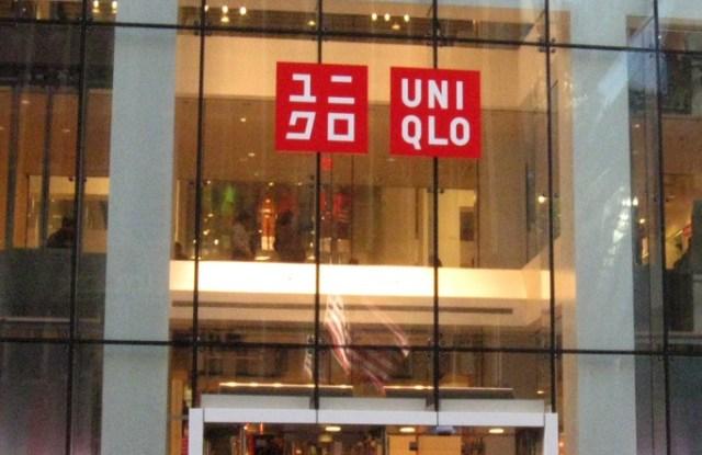A Uniqlo store