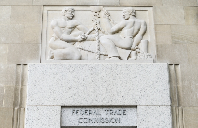 The Federal Trade Commission building.