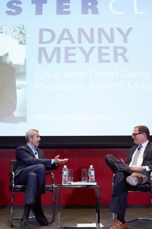 David Carey interviews Danny Meyer at Hearst Tower.