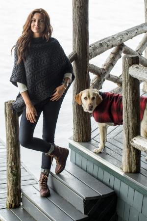 Guideboat's current bestselling poncho.