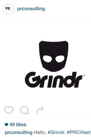Grindr PR Consulting