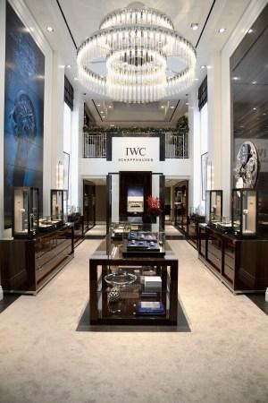 IWC Schaffhausen Rodeo Drive Boutique Opening