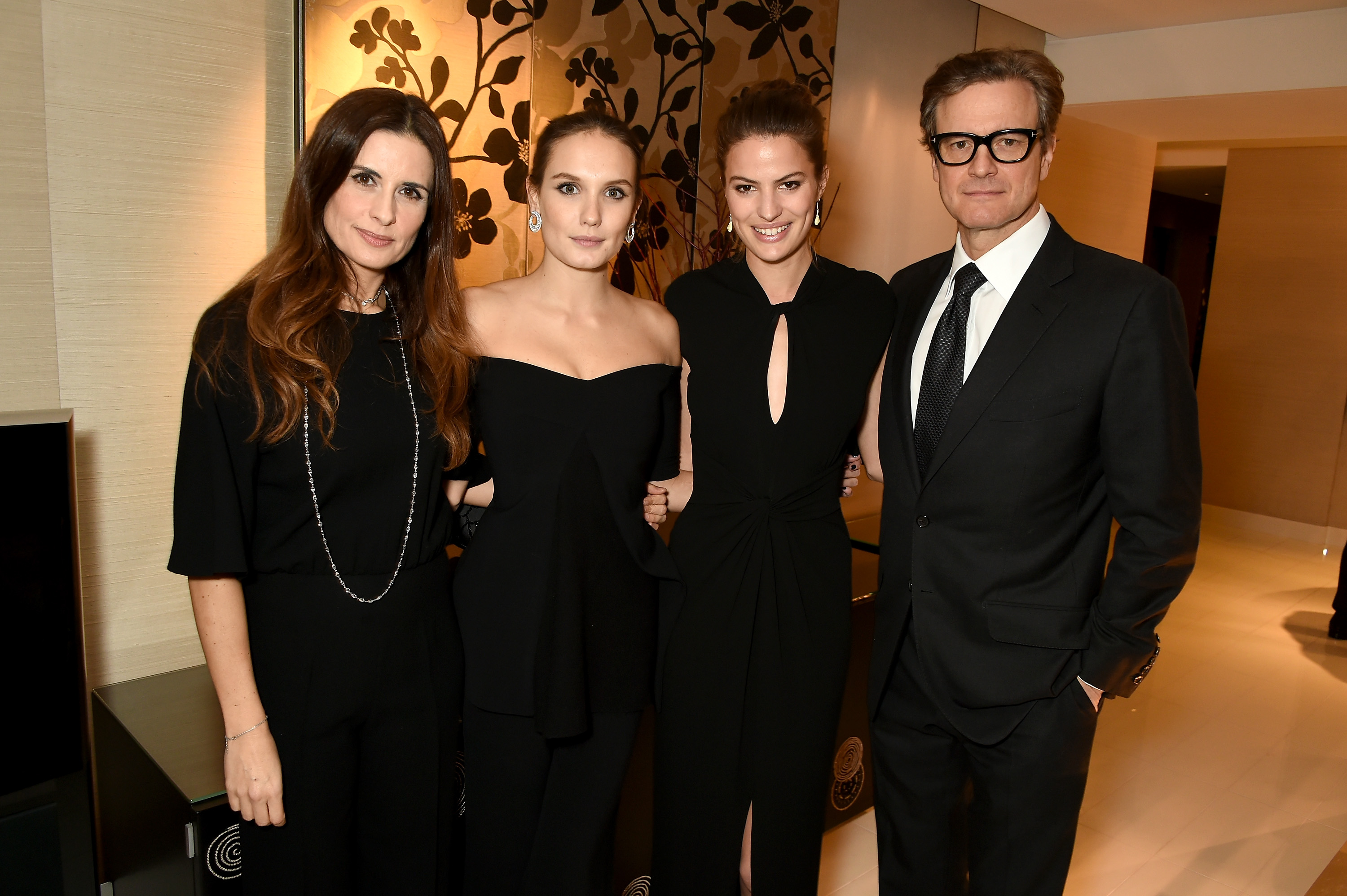Livia Firth, Ana Girardot, Cameron Russell and Colin Firth
