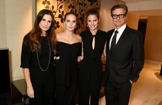 Livia Firth, Ana Girardot, Cameron Russell and Colin Firth