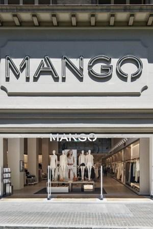 Mango's Rambla Catalunya flagship in Barcelona.