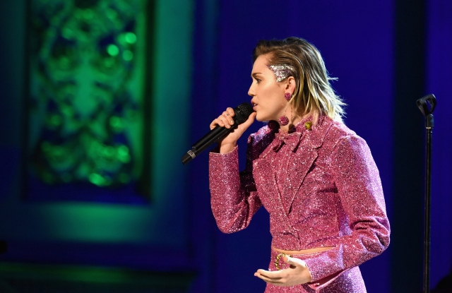 Miley Cyrus The ONE Campaign And (RED) Mark World AIDS Day And Celebrate 10 Years Of Progress With Concert At Carnegie Hall In New York
