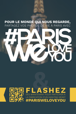 #ParisWeLoveYou Campaign