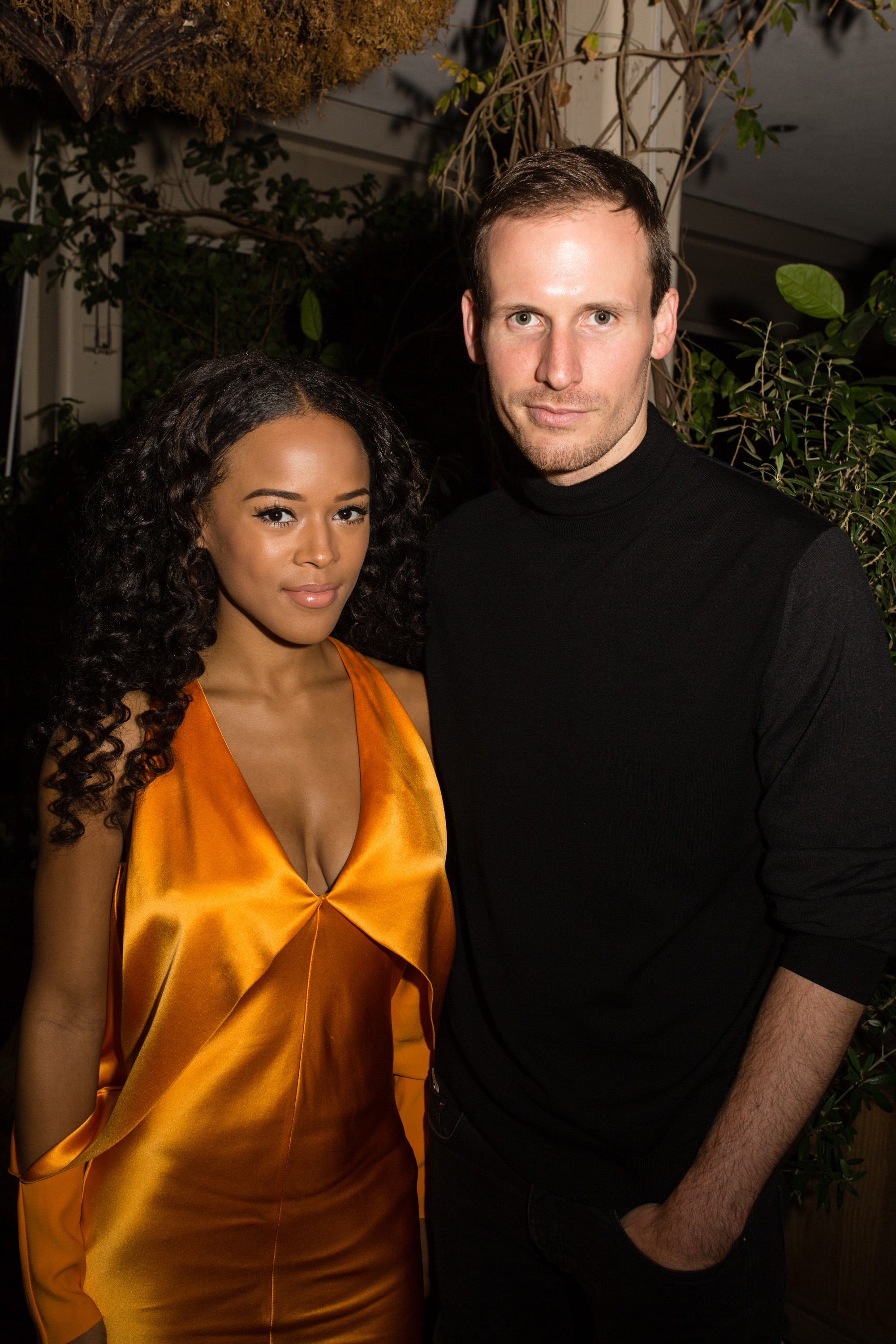 Serayah McNeill and Dion Lee