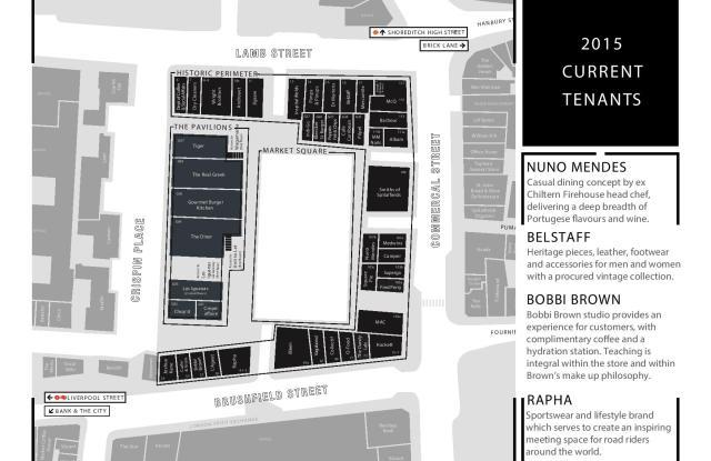 Spitalfields market plan