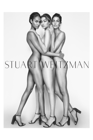 Stuart Weitzman Spring 2016 Campaign.